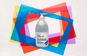Hand sanitizer for sensitive skin