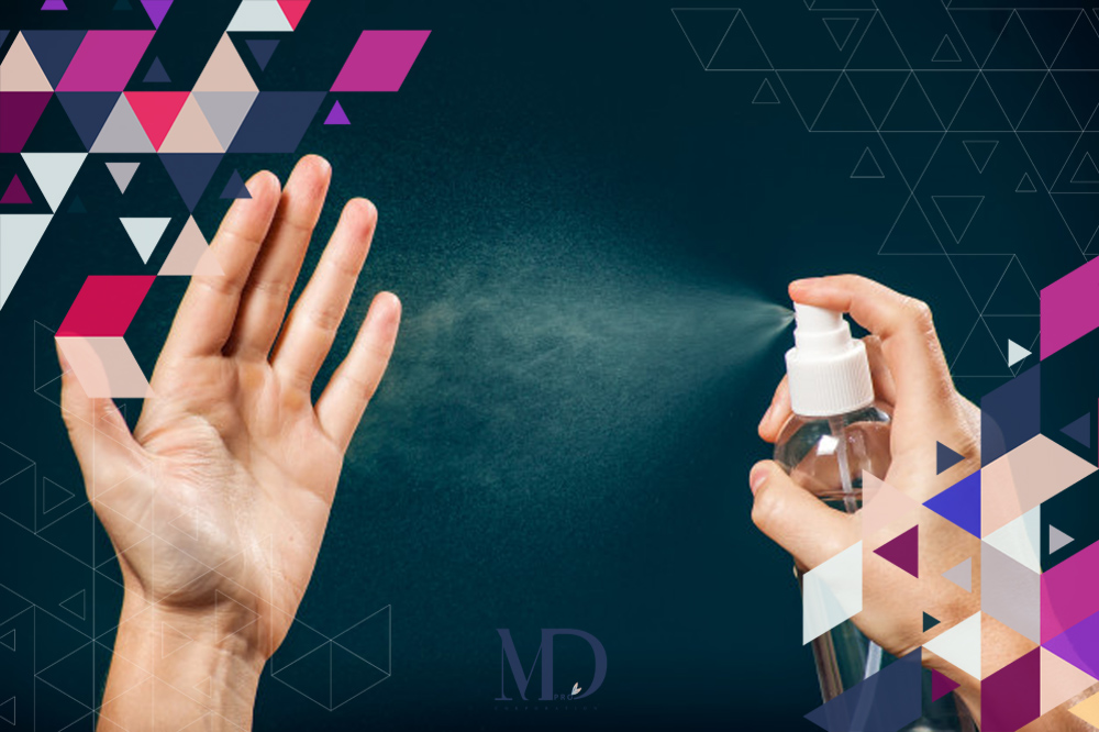 Guaranteed health with hand sanitizer